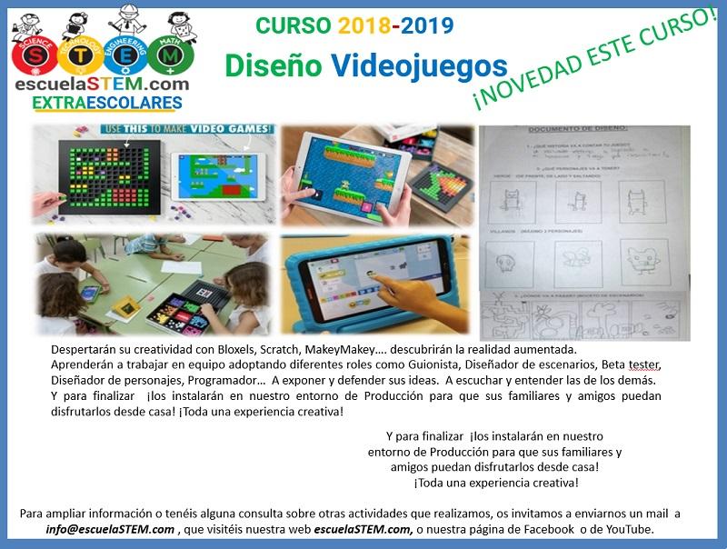 Extraescolar Navas De Tolosa Diseño Videojuegos