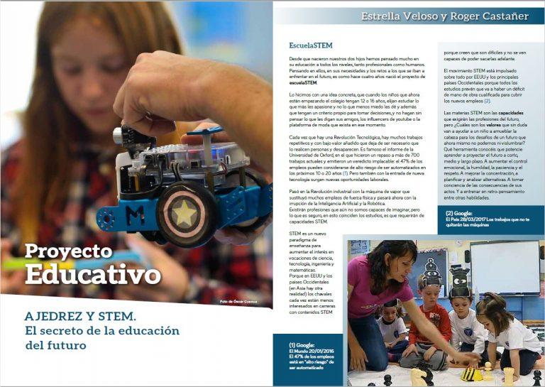 Ajedrez y STEM El Secreto De La Educacion Del Futuro