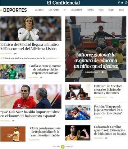 Reportaje El Confidencial Ajedrez Educativo