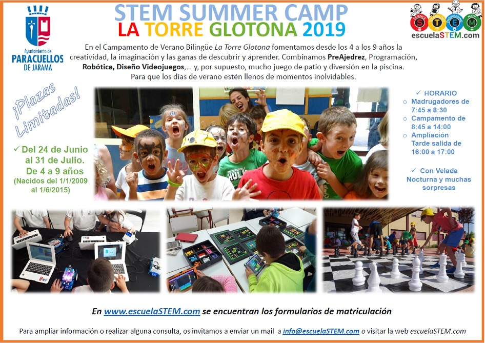 STEM SUMMER CAMP Madrid
