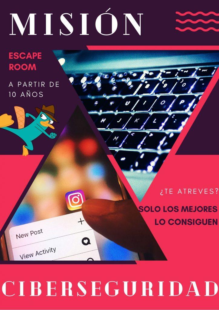 Escape Room Misión Ciberseguridad